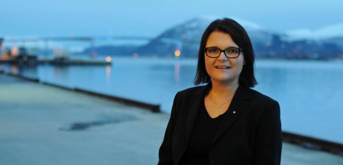 Trude Marie Wold driver et advokatfirma på Sortland.