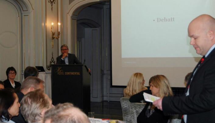 – Vi må huske på historikken. I over ett hundre år har Advokatforeningen sagt nei til pliktig medlemskap, sa Øyvind Johnsen fra Nordland krets.