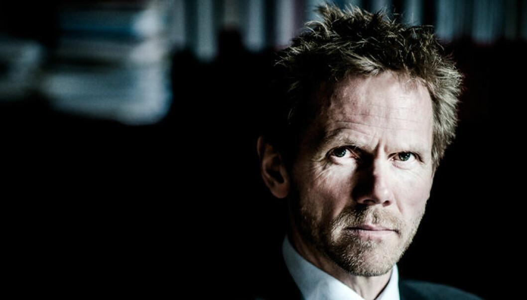 Regjeringsadvokat Fredrik Sejersted.