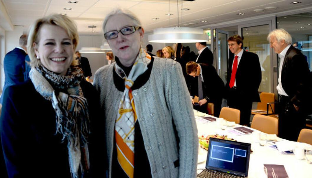 En hovedbekymring blant europeiske advokater er administrative byrder og omkostninger som «vokterrollen» pålegger advokatvirksomheter. – Men den største kilden til bekymring er fortsatt taushetspliktens stilling, sier Anne Birgitte Gammeljord, her i Forum for de store med Merete Smith.