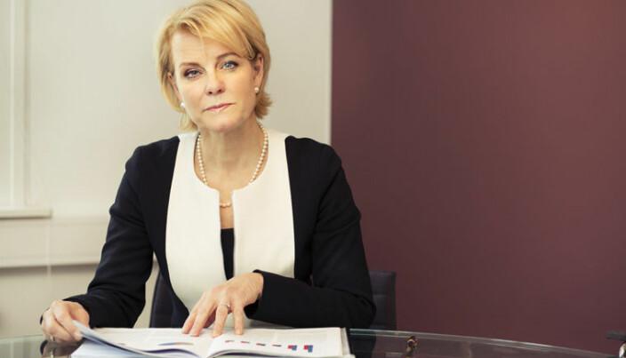 Ønsker man innsyn i en disiplinæravgjørelse, må man søke om dette til Advokatforeningen. Her generalsekretær Merete Smith.
