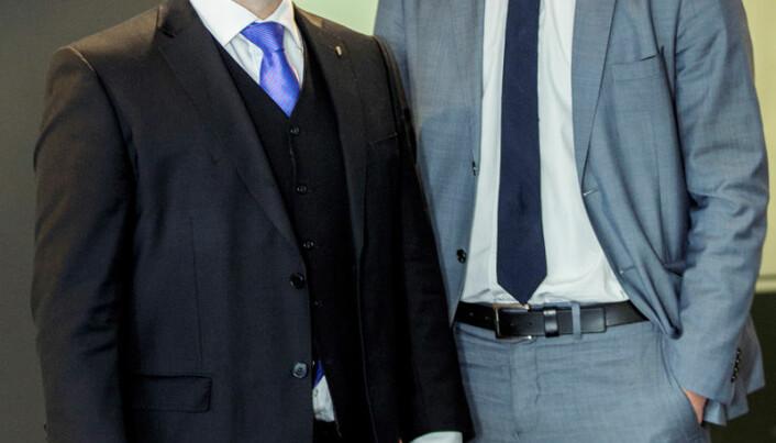 - Han er fjellstø og profesjonell, sier VIdar Brein-Karlsen om sjefen, justisiminister Anders Anundsen.