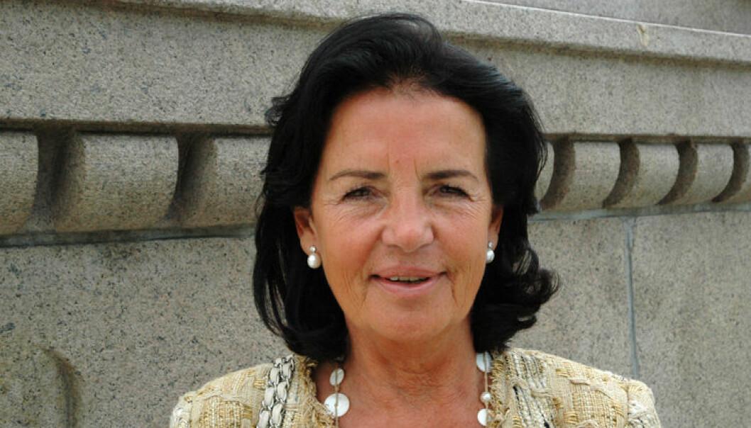 Generalsekretær Anne Ramberg i Sveriges Advokatsamfund sier at advokater nyter større respekt i Sverige enn i Norge, og forstår ikke hvorfor. Foto: Nina Schmidt