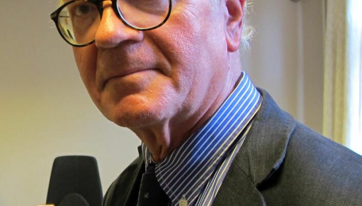 Helge Wesenberg stilte i fengslingsmøte av hensyn til sin faste forsvareravtale med Nordhordland tingrett.