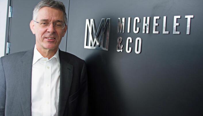 """Christian Fredrik Michelet er overbevist om at det er rom for små """"boutique-firmaer"""" ved siden av de store."""