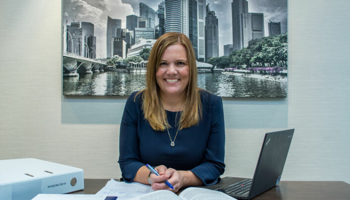 Siri Wennevik, Wikborg Rein i Singapore