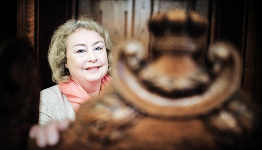 """""""Etter mitt syn er det meget viktig at utnevningen av dommere til Høyesterett ikke er en politisk prosess, slik den er i USA"""", sa Øie til Dagens Næringsliv da hun ble utnevnt."""