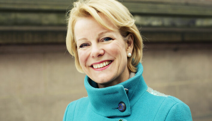 Merete Smith forsvarer etter-utdanningsordningen. Foto: Monica Kvaale
