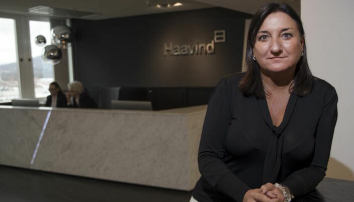 Haavind-direktør Dyveke Hamza