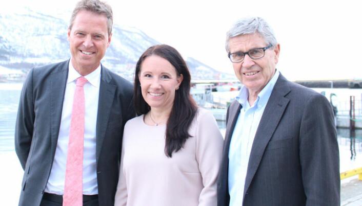 Årsmøte i Troms krets 7. april 2016 Jens Johan Hjort Marianne Bech og Erik Keiserud