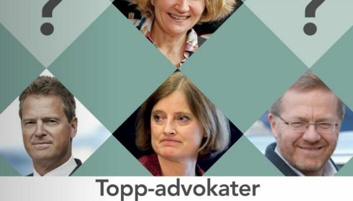 Advokatbladets marsutgave.