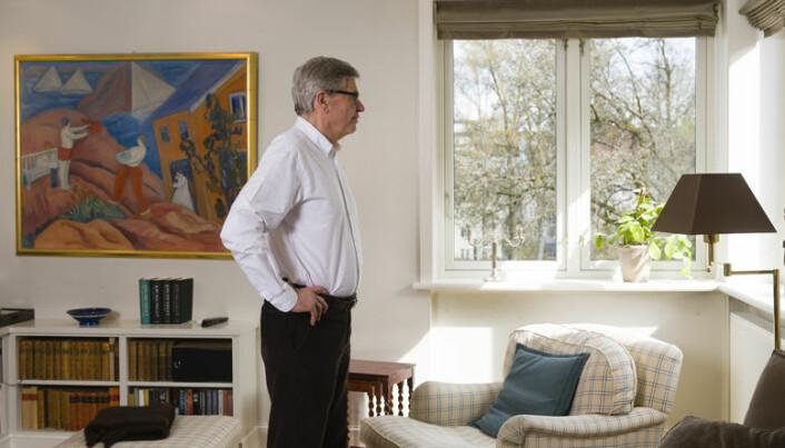 For ti år siden byttet Erik og Anne ut huset i Bærum med en leilighet på Frogner.