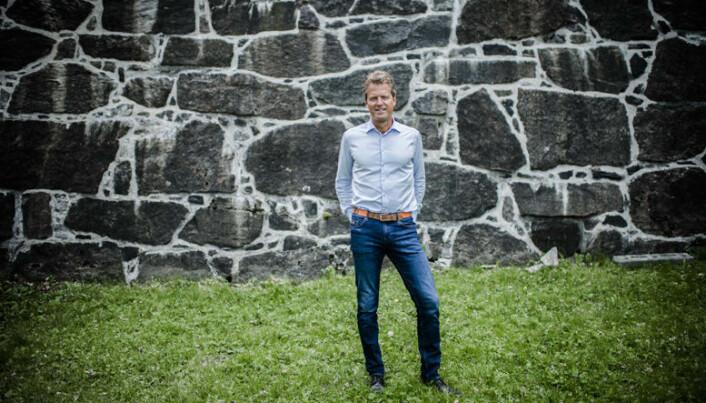 Jens Johan Hjort, nyvalgt leder av Advokatforeningen