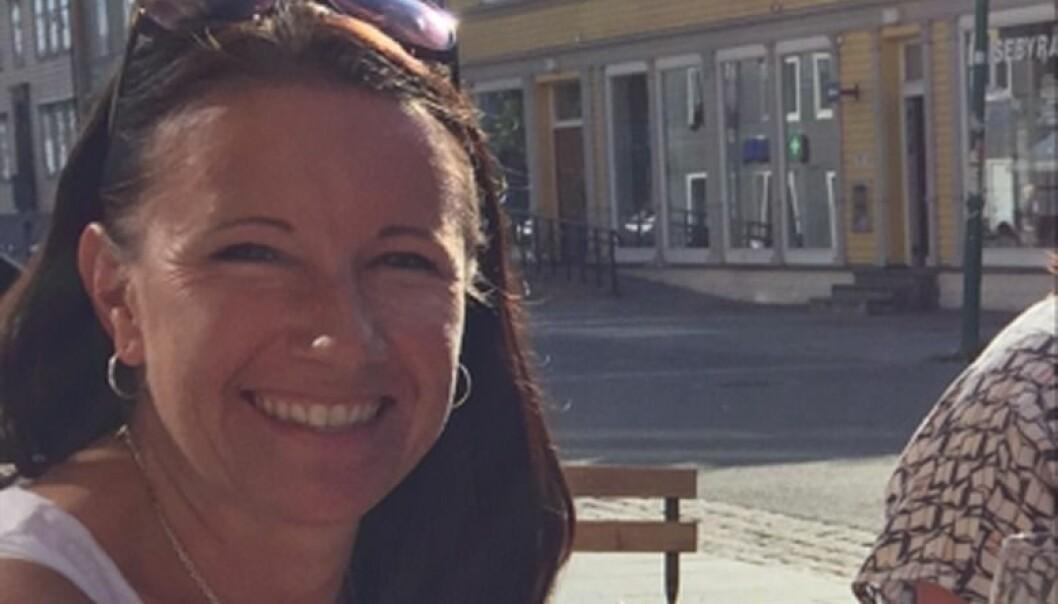 Marianne Bech foretrkker å holde seg ajour på e-posten i ferien. Foto: Privat