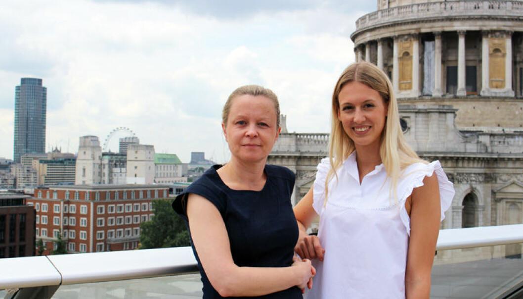 Nordmennene Birgitte Karlsen og Julia Skisaker jobber som henholdsvis partner og engelsk utdannet advokatfullmektig ved Wikborg Reins London-kontor.