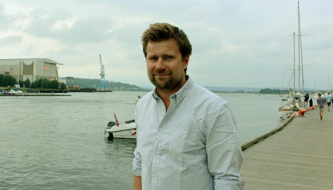 Med kone hjemme i Norge, vet ikke Ole Henrik Wille hvor lenge han skal jobbe i London. - Men jeg blir i hvert fall et par år til, også får vi se etter det, sier han.