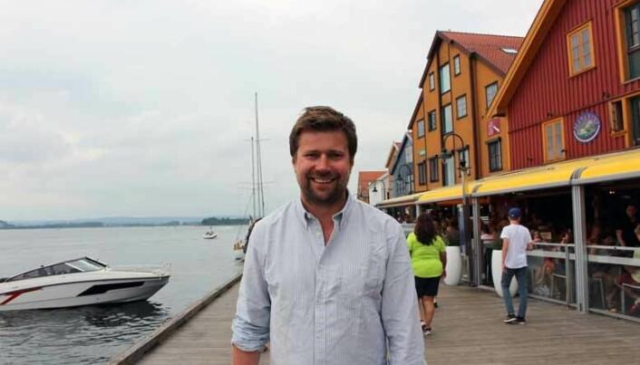 <html><head></head><body> Ole Henrik Wille, her på ferie i Norge,stortrivesi et internasjonalt miljøved Wikborg Reins London-kontor.</body></html>