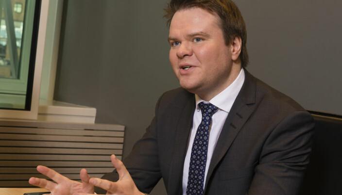 Kluge-advokat Ove André Vanebo.