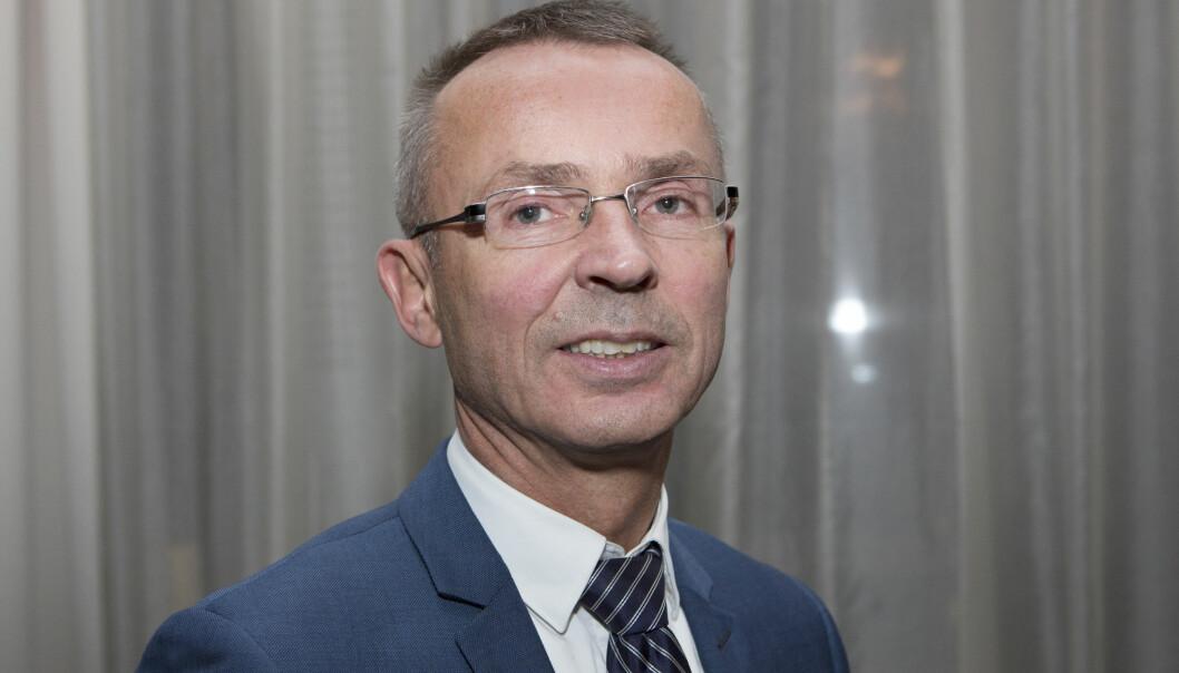 Sven Marius Urke er lite fornøyd med kuttet som foreslår i statsbudsjettet for 2020. Foto: Monica Kvaale