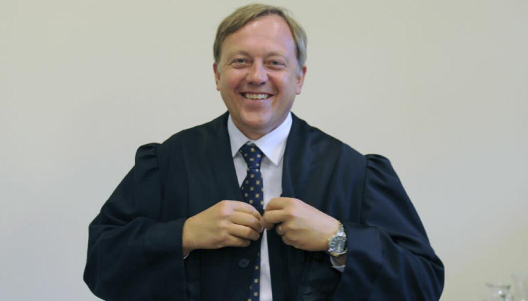 Advokat Nicolay Skarning fotografert da Holship-saken gikk i lagmannsretten. Foto: Foto: Terje Pedersen / NTB Scanpix