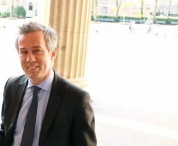 Wiersholms managing partner Morten Goller ser frem til å samarbeide med den nye styrelederen Kjersti T. Tøbråten.