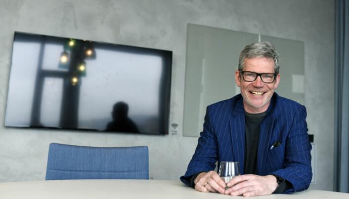 Knut-Magnar Aanestad (46) mener at kulturen i Kluge er åpen for innovasjon og nytenkning.