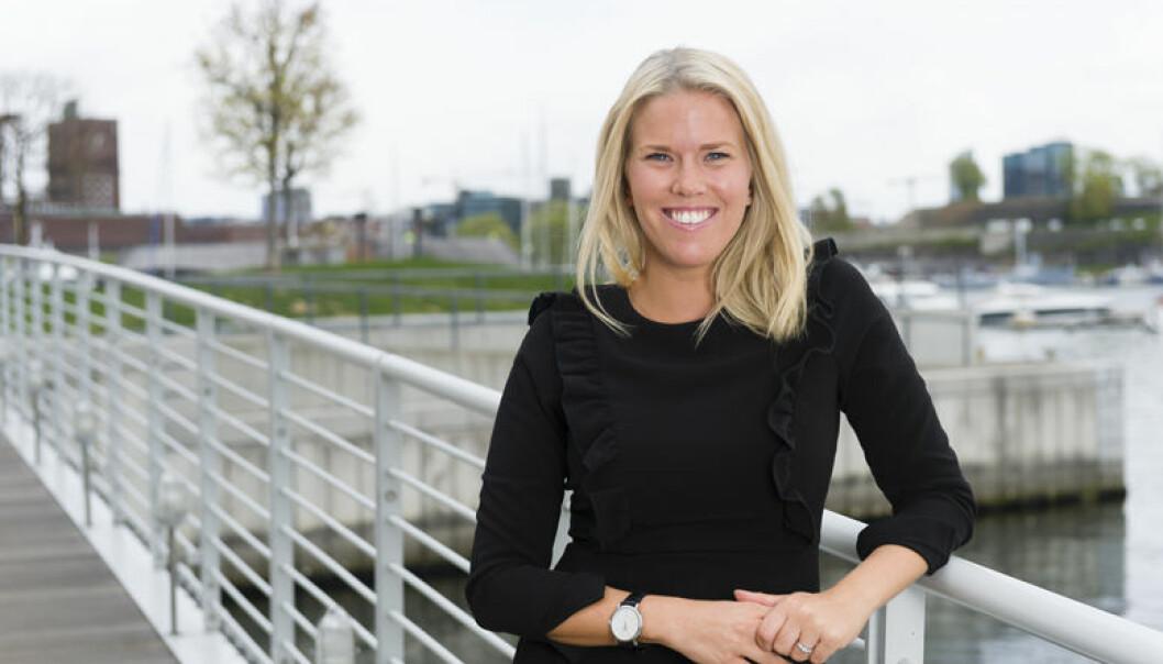 Ylva Gjesdahl Petersen i Thommessen er et av de fem nominerte selskapene til Talentprisen 2017.
