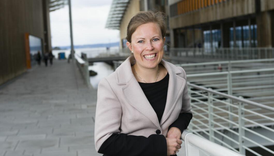Caroline Skaar Landsværk fra Wikborg Rein som er nominert til Talentprisen 2017