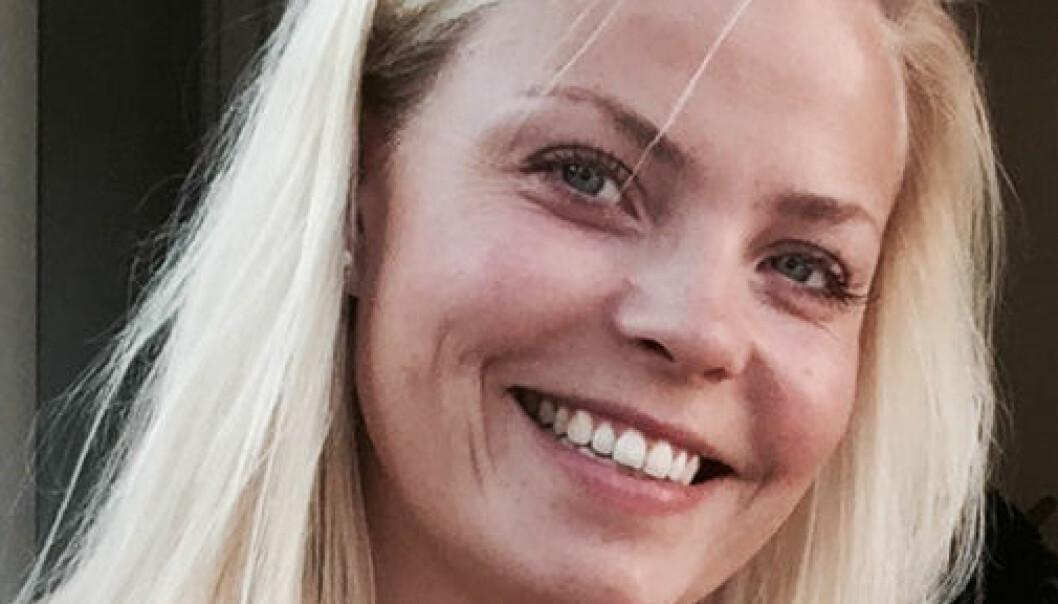 Kristine Hasle Øverby er for en mindre hard linje i justispolitikken. Foto: Privat