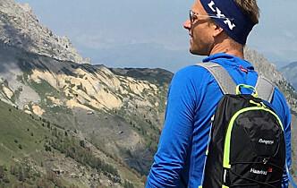 Kobler av med lange turer i de italienske alpene