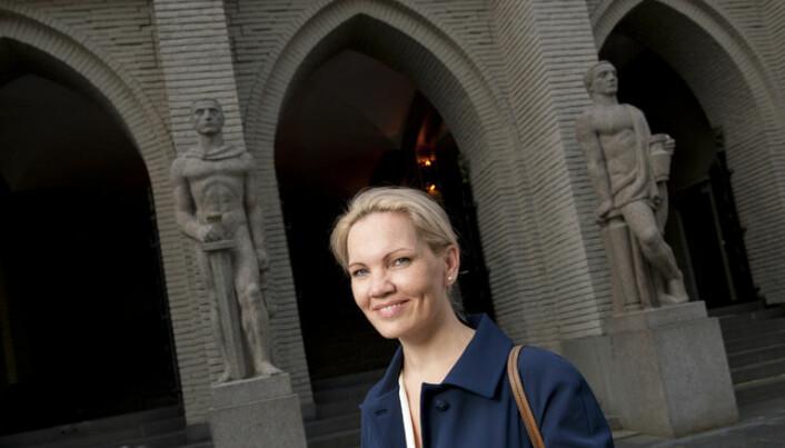 Maria sitter i styret i Wayback i Bergen, og har fått nye venner blant tidligere innsatte.