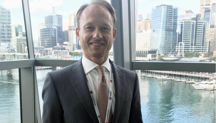 Haavind-partner Pål Kvernaas skal bidra som foredragsholder under åres IBA-konferanse. Her fra konferansen i Sydney i 2017.