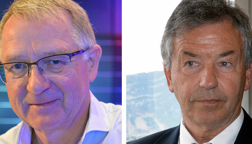- Av og til observerer vi prinsipielle spørsmål innen strafferettsområdet som ikke kommer inn, sier Arne Gunnar Aas. Til venstre høyesterettsdommer Magnus Matningsdal.