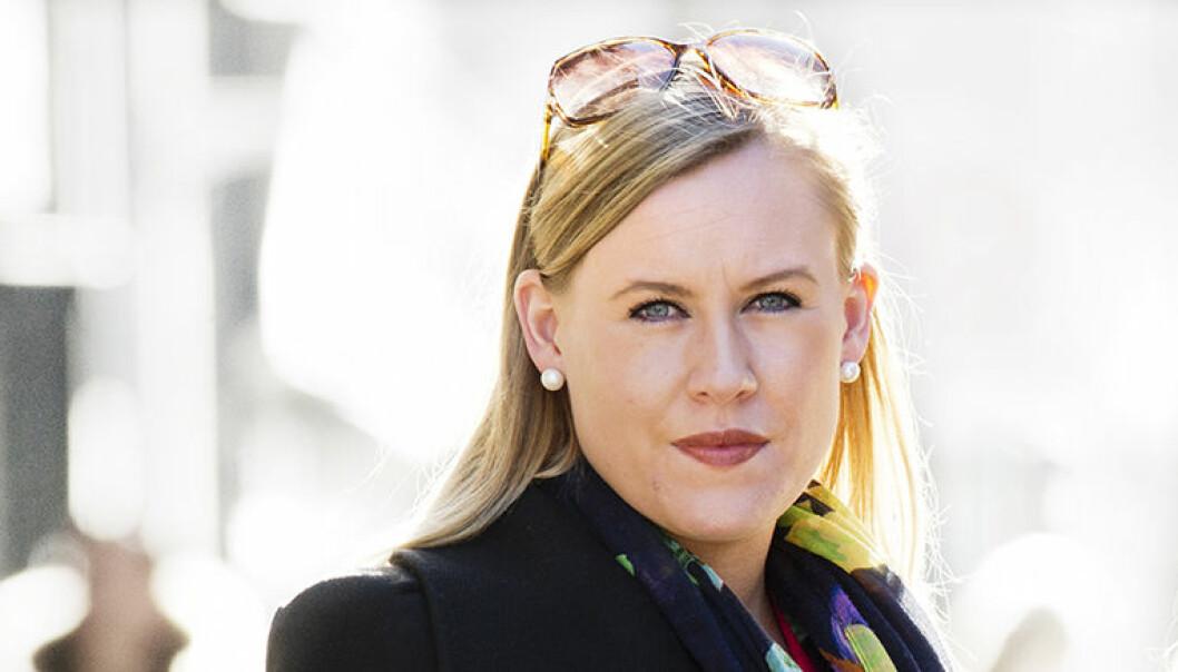 Lene Vågslid fra Telemark er ny leder av Stortingets justiskomite. Foto: Helge Mikalsen, VG, NTB Scanpix