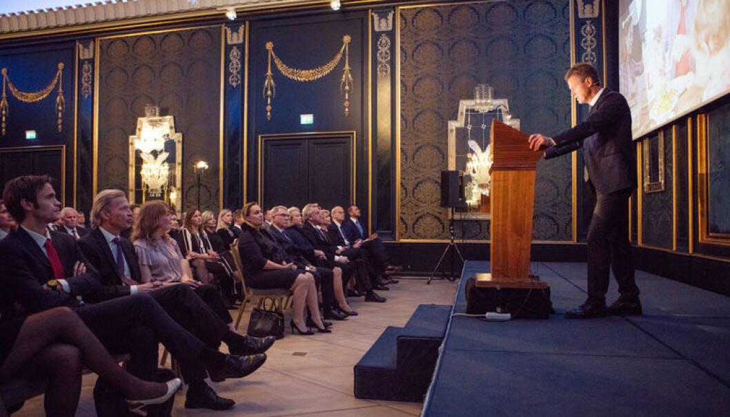 Da daværende Advokatforeningen-leder Jens Johan Hjort holdt årstalen 2017 var temaet Det digitale grenseforsvar.