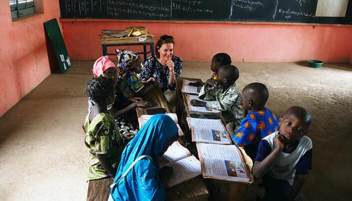 Som statssekretær i UD besøkte Marit Berger Røsland i mars Mali i Vest-Afrika, der Norge vil øke satsningen på utdanning, særlig for jenter.