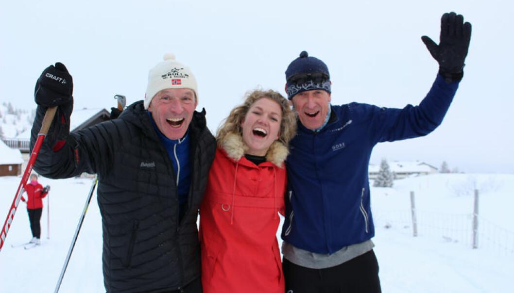 Frode Sulland, Marit Lomundal Sæther og Helge Hjort utklasset konkurrentene i skiløypene på Golsfjellet.