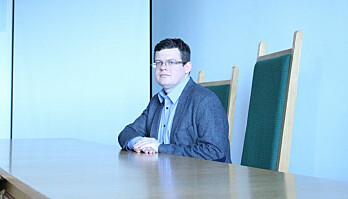 Leder av Dommerforeningen Iustitia Krystian Markiewicz er en av initiativtagerne til demonstrasjonen.