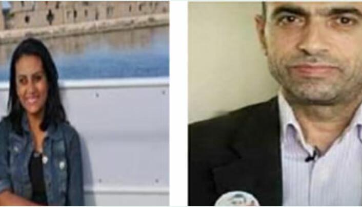 Mahienour El - Masry og Ibrahim Metwally Hegazy.