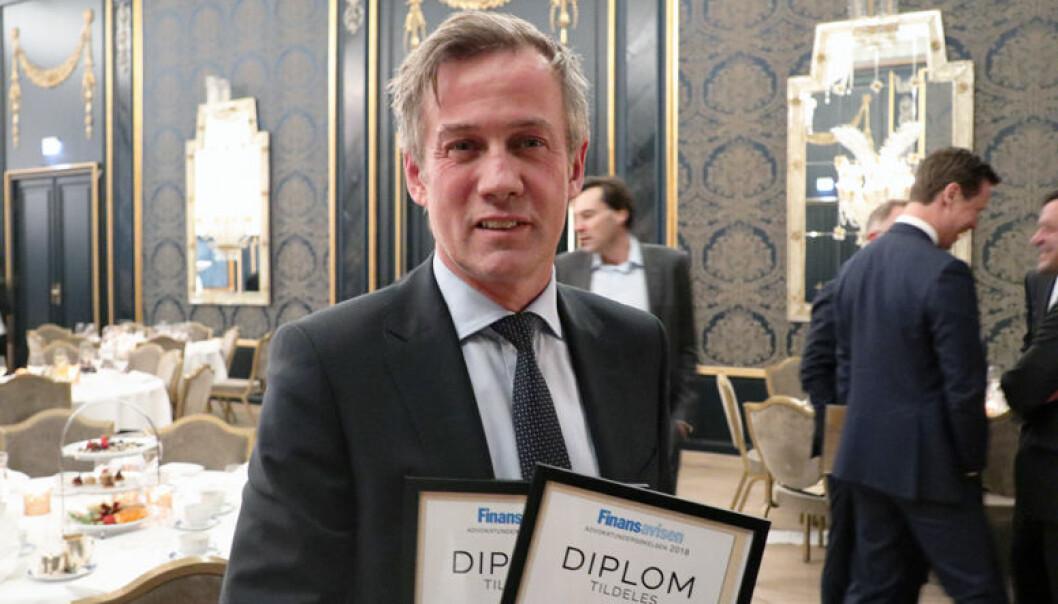 Morten Goller kan for tredje gang titulere seg som vinner av Finansavisen Jus sin advokatundersøkelse. På en prisutdeling på Grand hotell onsdag mottok han hyllest fra over 100 konkurrenter og kolleger.