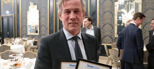 Topper Finansavisen-kåring igjen: - Utrolig hyggelig å bli stemt frem av konkurrentene