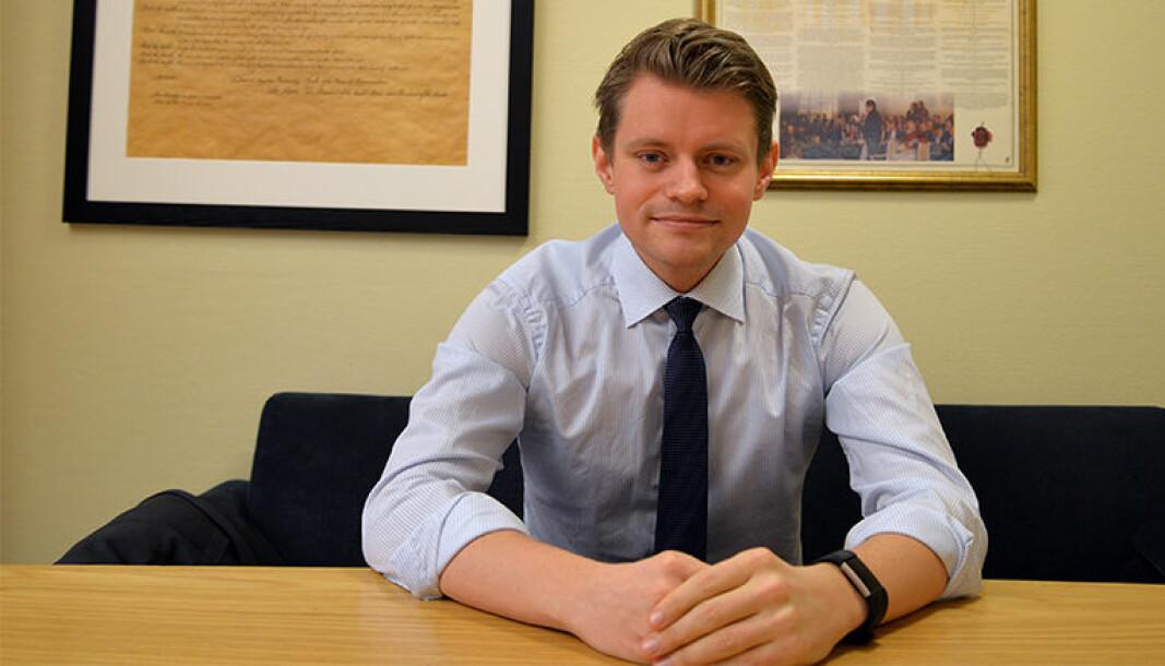 Peter Frølich er Høyres justispolitiske talsperson.