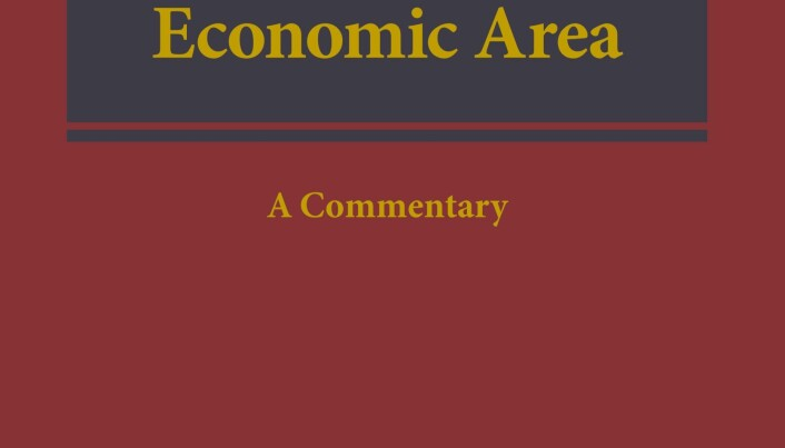Agreement on the European Economic Area. A Commentary. C.H.Beck, Hart, Nomos, Universitetsforlaget 2018, 1141 sider, 2300 kroner.