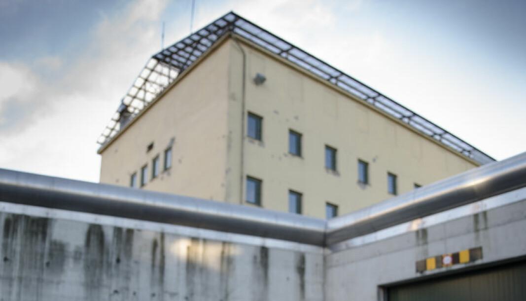 Oslo fengsel er Norges største med plass til 243 mannlige innsatte.