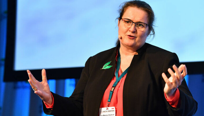 <html><head></head><body> I januar var Stubholt ordstyrer på konferansen Artic Frontiers, der regjeringsmedlemmer fra både Norge, Sverige, Danmark og Finland var blant innlederne.</body></html>