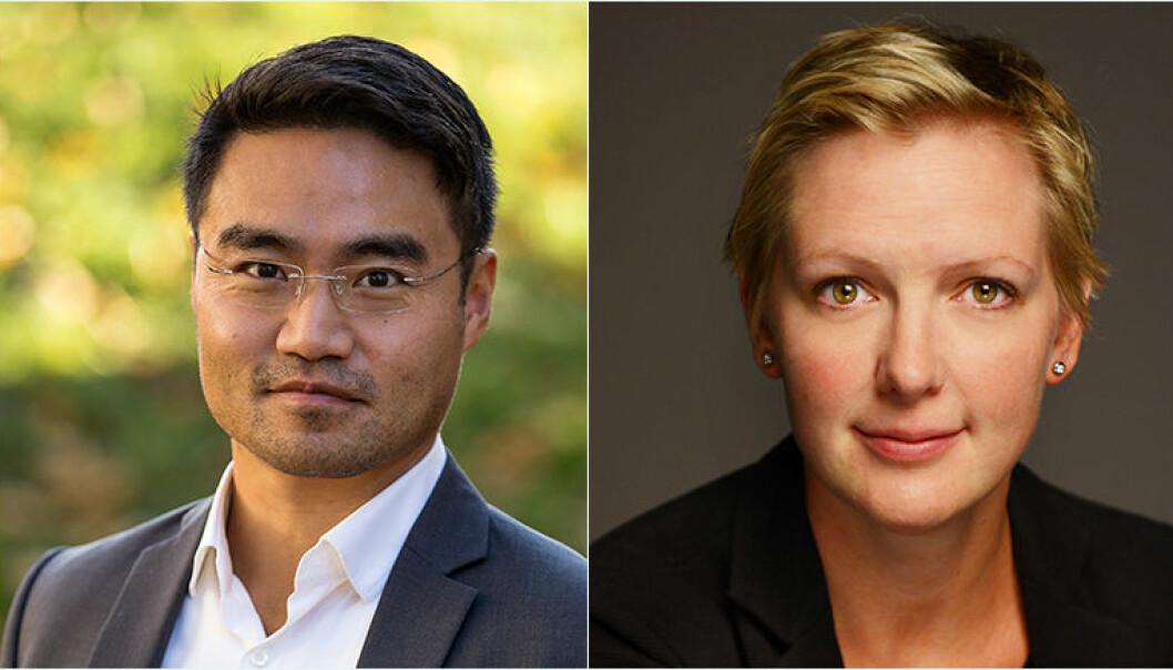 Johan Kvandal og Tale Skjølsvik tror at fremtidens klienter ikke vil ønske å betale advokaten pr. time - slik som i dag.