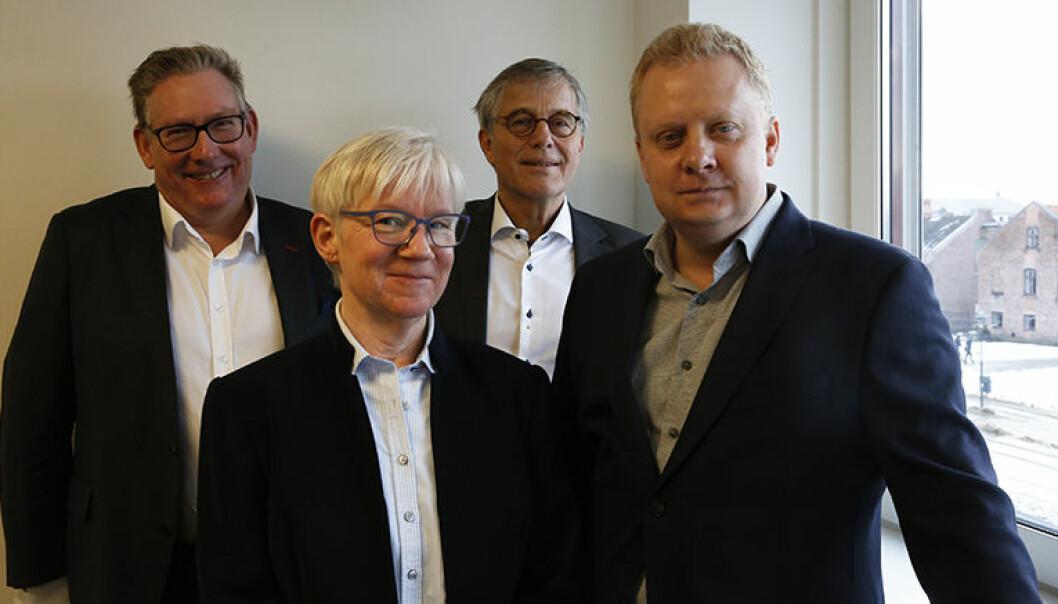 – Formålet med tilsynene er å gjøre advokatene bedre, sier Kjetil Andersen, Hege Bjølseth, Thomas Smedsvig og Jonas Haugsvold i Tilsynsrådet.