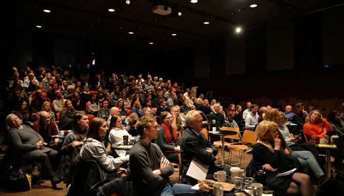 Stort oppmøte da Riksadvokaten og Advokatforeningen arrangerte seminar om norsk kriminalpolitikk.