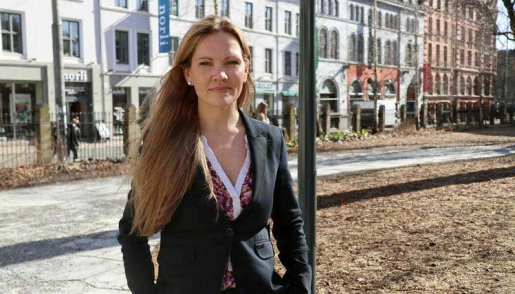 Adokat Maria Hessen Jacobsen og Advokatforeningen er engasjert i tyrkiske advokatkollegers situasjon. Foto: Henrik Skjevestad