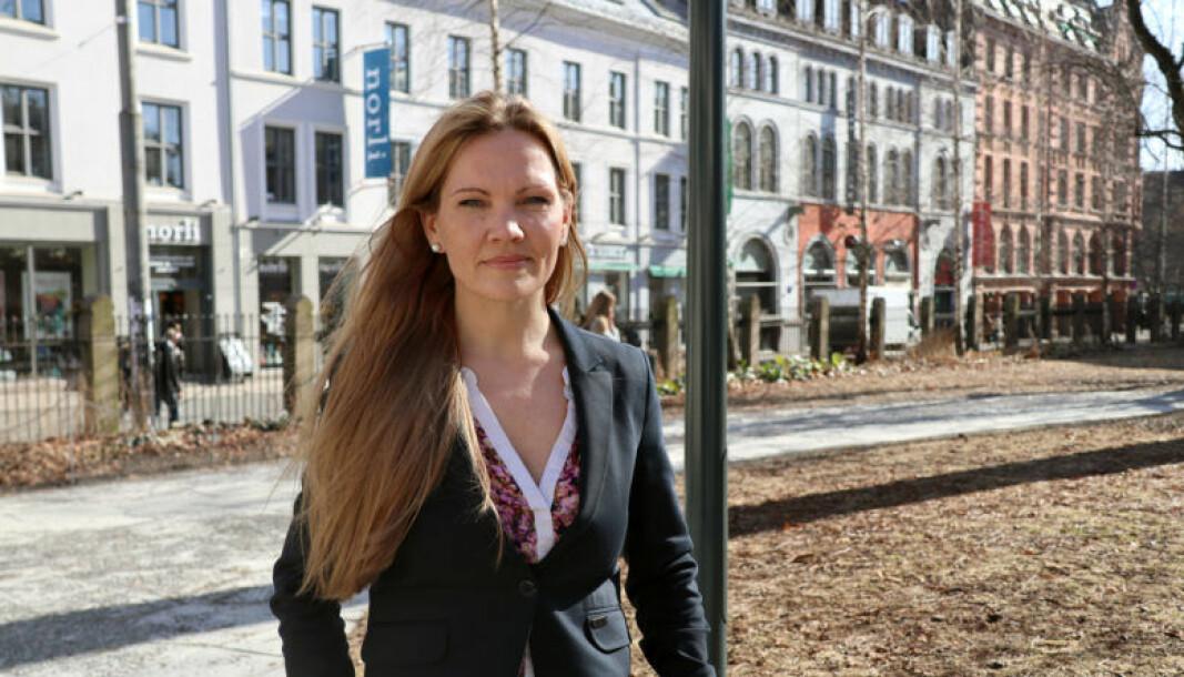 Advokat Maria Hessen Jacobsen er opptatt av innsattes rettigheter.